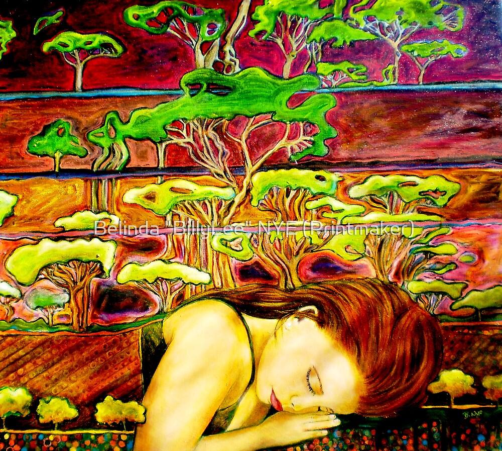 """Jade's Dream - Oil Painting by Belinda """"BillyLee"""" NYE (Printmaker)"""