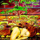 "Jade's Dream - Oil Painting by Belinda ""BillyLee"" NYE (Printmaker)"