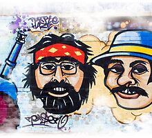 Cheech and Chong  by ArchetypeImages