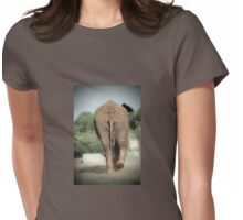 Does my bum look big in this? Womens Fitted T-Shirt
