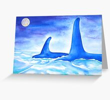 Whalesong Greeting Card