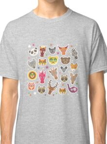 funny animals muzzle Classic T-Shirt
