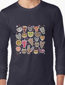 funny animals muzzle Long Sleeve T-Shirt