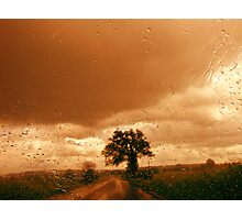 Driving in the Rain Photographic Print
