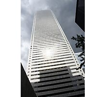 Sun Spots on Tower Photographic Print
