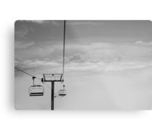Ski Lift to Heaven Metal Print