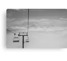 Ski Lift to Heaven Canvas Print