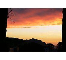Sunset Gordons Bay Photographic Print
