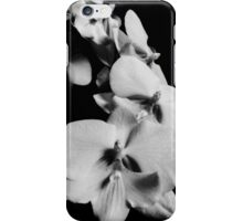 Tumbling Orchid Flowers iPhone Case/Skin