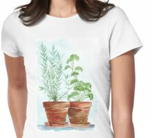 Rosemary and Parsley Womens Fitted T-Shirt