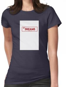 CHEAP DREAMS Womens Fitted T-Shirt