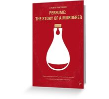 No194 My Perfume The Story of a Murderer minimal movie poster Greeting Card