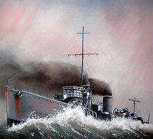 HMAS Swordsman by kevinanstis