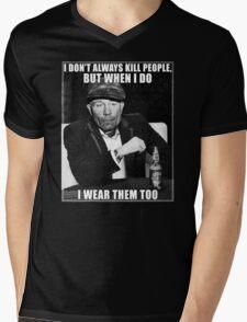Ed Gein doesn't always.. Mens V-Neck T-Shirt