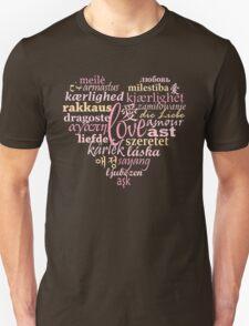 Love in Multi-Language Unisex T-Shirt