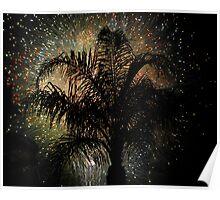 Florida Fireworks Poster