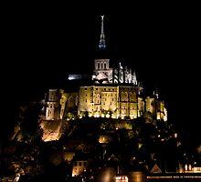 Mont St. Michel by Paudie Scanlon