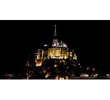 Mont St. Michel Photographic Print