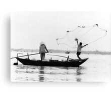 The fisherman's launch Canvas Print