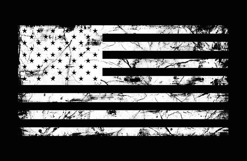 Image result for america flag black