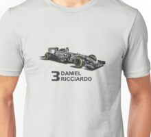 Red Bull Daniel Ricciardo Camouflage  Unisex T-Shirt