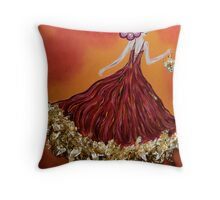 Haute Couture Sunset Throw Pillow