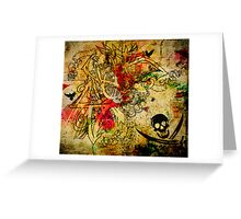 PIRATE TAG  Greeting Card