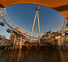 London Eye II by Lea Valley Photographic