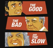 The Good the Bad and the Slow by SxedioStudio