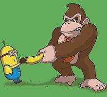 Banana fighters by Paula García