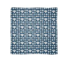 Majora's Pattern - Zora Blue Scarf