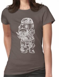 Cthulhu Tshirt in White Womens Fitted T-Shirt