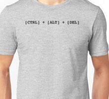 Resetting stuff since 1988... CTRL + ALT + DEL IBM PC, IT geeks Unisex T-Shirt