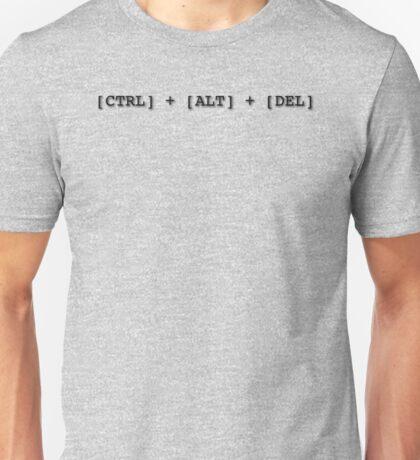Resetting stuff since 1988... CTRL + ALT + DEL IBM PC, IT geeks Unisex T-Shirt