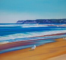 Merewether Beach, Newcastle, NSW, Australia by Carole Elliott