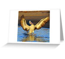 """"""" Wings Ahoy """" Marlo Vic. Greeting Card"""