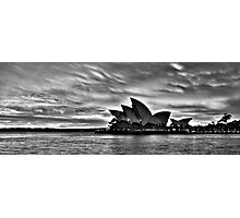 Shadow Aria - Sydney Opera House - The HDR Experience Photographic Print