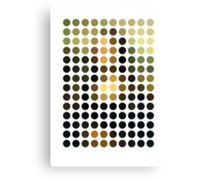 As Spots (Mona Lisa) Canvas Print