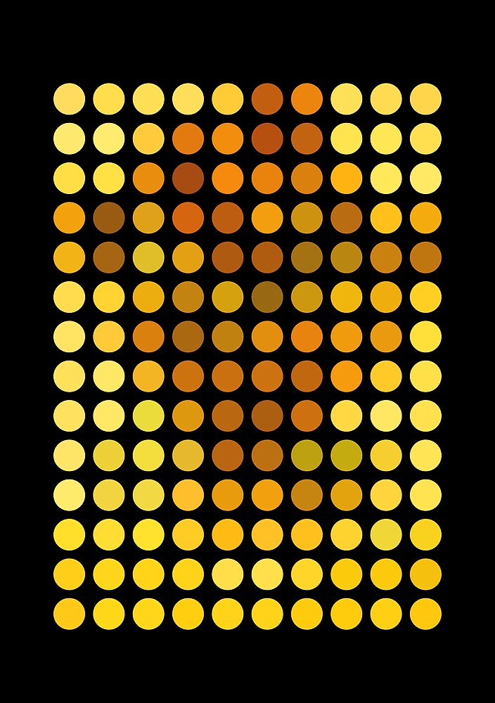As Spots (Sunflowers) by AbstractGraphic