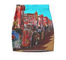 Cadillac Ranch Mini Skirt
