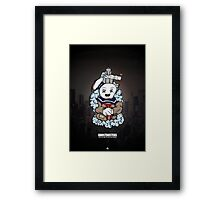 The Ghostbusters Illustration Framed Print