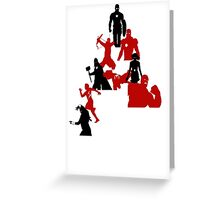 The Avengers A Greeting Card