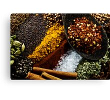 Spices Canvas Print