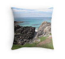 Clachtoll Bay Throw Pillow