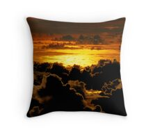 Over the clouds.... Throw Pillow