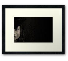 Papuan beauty Framed Print