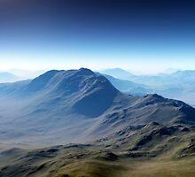 Distant Mountains by Ann Garrett