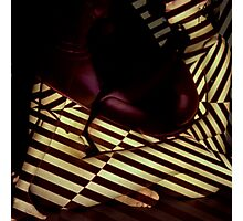 stripey daze Photographic Print