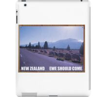 Flight Of The Conchords Tourism Poster iPad Case/Skin