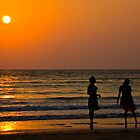 Goan sunset by Tim Lawes
